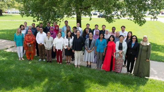 This summer, the IAEA held a two-week workshop for 30 educators from 17 countries at Argonne to learn more about nuclear technology and discuss how to introduce the topic into their high school classrooms. (Image by Argonne National Laboratory.)