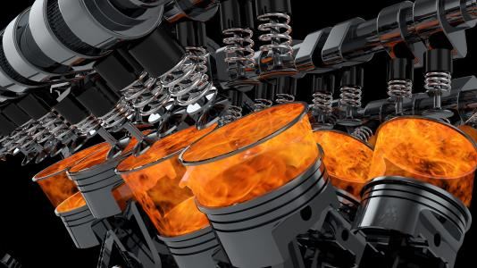 Argonne researchers will use machine learning algorithms and artificial intelligence to improve simulations internal combustion engines. Sibendu Som and his team are collaborating with Convergent Science and Parallel Works as part of this research, which is funded, in part, by the U.S. Department of Energy. (Image by Shutterstock / yucelyilmaz.)