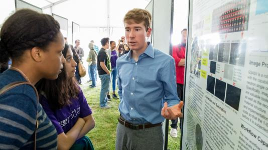 Argonne intern Connor Horn (Image by Argonne National Laboratory.)