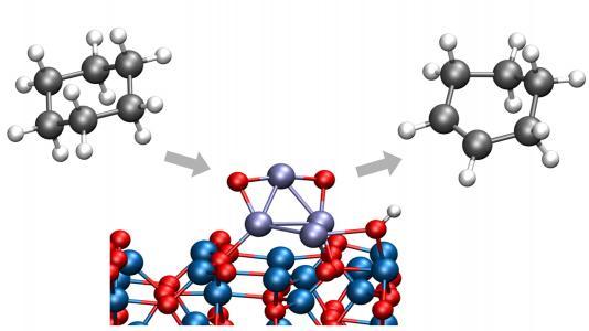Converting cyclohexane