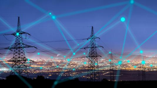 Researchers at Argonne National Laboratory are working on optimization models that use machine learning, a form of artificial intelligence, to simulate the electric system and the severity of various problems. In a region with 1,000 electric power assets, an outage of just three assets can produce nearly a billion scenarios of potential failure. Image by urbans/Shutterstock.com.