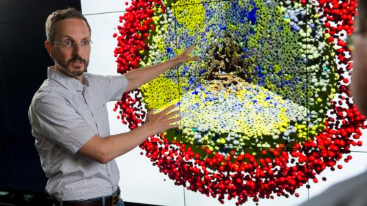 Argonne's Jonathan Ozik (pictured) and Nicholson Collier are searching for clues on how to improve cancer immunotherapy by harnessing the power of supercomputers at Argonne and the University of Chicago.
