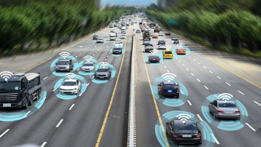 Utilizing ALCF supercomputing resources, Argonne researchers are developing the deep learning framework MaLTESE with autonomous — or self-driving — and cloud-connected vehicles in mind. This work could help meet demand to deliver better engine performance, fuel economy and reduced emissions. (Image by Shutterstock /Ju Jae-young.)