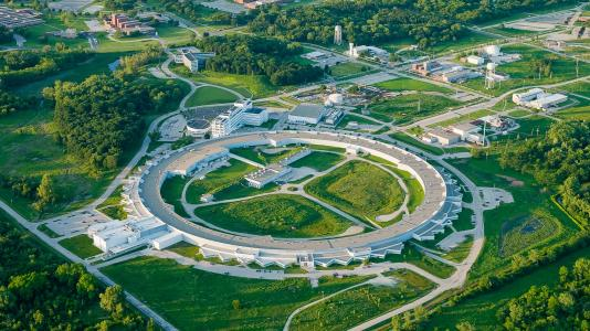 APS aerial view (Image by Argonne National Laboratory.)