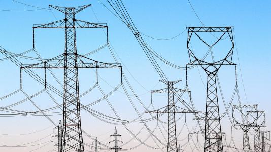 Global Energy Security Testbed banner-high tension power lines