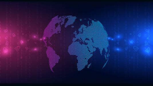 Global Asymmetric Threats banner-graphic of Earth