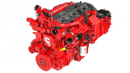 Endurant HD Fuel spray model. (Image by Cummins.)
