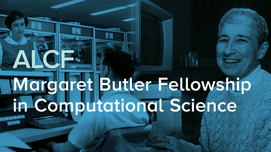 The deadline to apply for the Margaret Butler Fellowship in Computational Science is November 1, 2021. (Image by Argonne National Laboratory.)