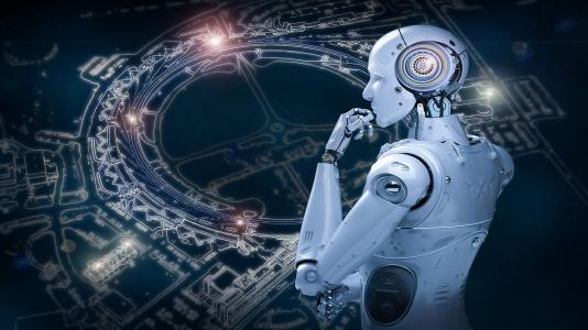 Scientists are using artificial intelligence to train computers to process the reams of data produced by the Advanced Photon Source. (Image by Shutterstock/Phonlamai Photo and Henry Chan.)