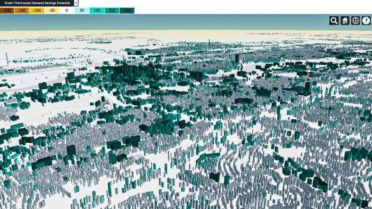 Simulated image. (Image by Joshua New/Oak Ridge National Laboratory.)