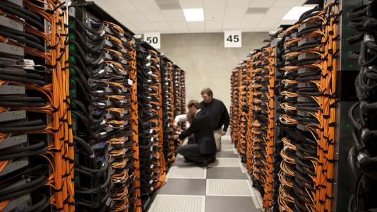 Argonne's new supercomputer, a Blue Gene/Q called Mira