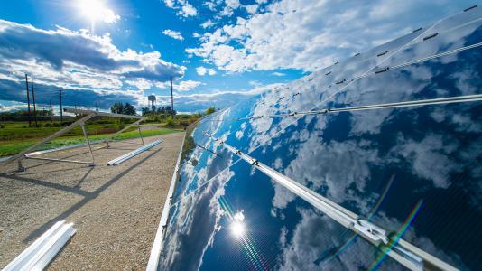 Argonne's 95kW solar array