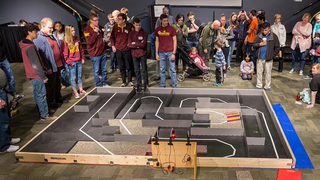 High School Autonomous Vehicle Competition   Argonne