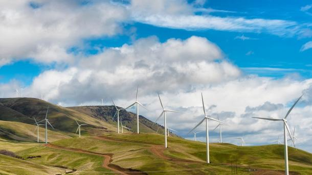 The more we know about how wind blows, the better we can harness the potential of wind energy. After four years of research, Argonne scientists and colleagues are helping to improve wind forecasting. (Image by Shutterstock / Dee Browning.)