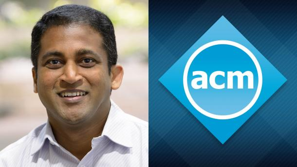 Argonne computer scientist Raj Kettimuthu was recently named an ACM Distinguished Member. (Image by Argonne National Laboratory and the Association for Computing Machinery.)