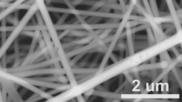 Electrospun fibers have a high surface-area-to-volume ratio, which favors surface reaction applications like catalysts, and superior mechanical properties compared with their bulk counter parts, making them less subject to mechanical failure.