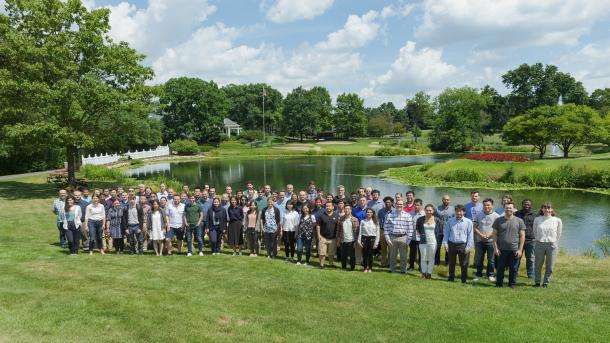 The 2019 Argonne Training Program on Extreme-Scale Computing (ATPESC) hosted 73 participants for two weeks of instruction on the tools and approaches needed to use the world's most powerful supercomputers for computational science and engineering research. (Image by Argonne National Laboratory.)