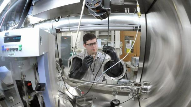 Scientists at the ReCell Center continue to make advances in each of the Center's four focus areas. These are direct cathode recycling, recovering other materials, design for recycling, and modeling and analysis. (Image by Argonne National Laboratory.)