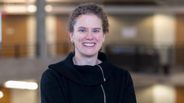 Katherine Riley, ALCF director of science, is serving as the program manager for DOE's INCITE program. (Image by Argonne National Laboratory.)